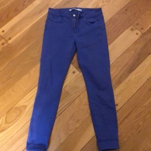 Joes stretch VIOLET colored jeans